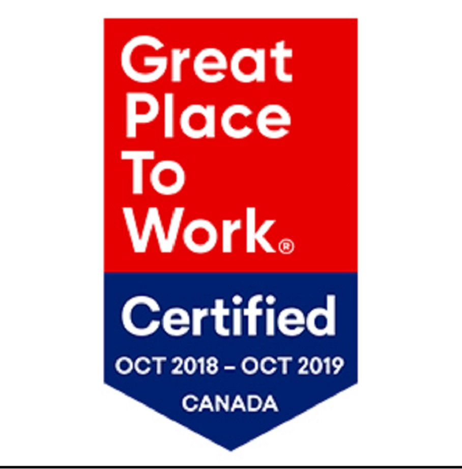 great place to work certified image