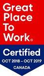 GPTW Certified OCT 2018 OCT 2019
