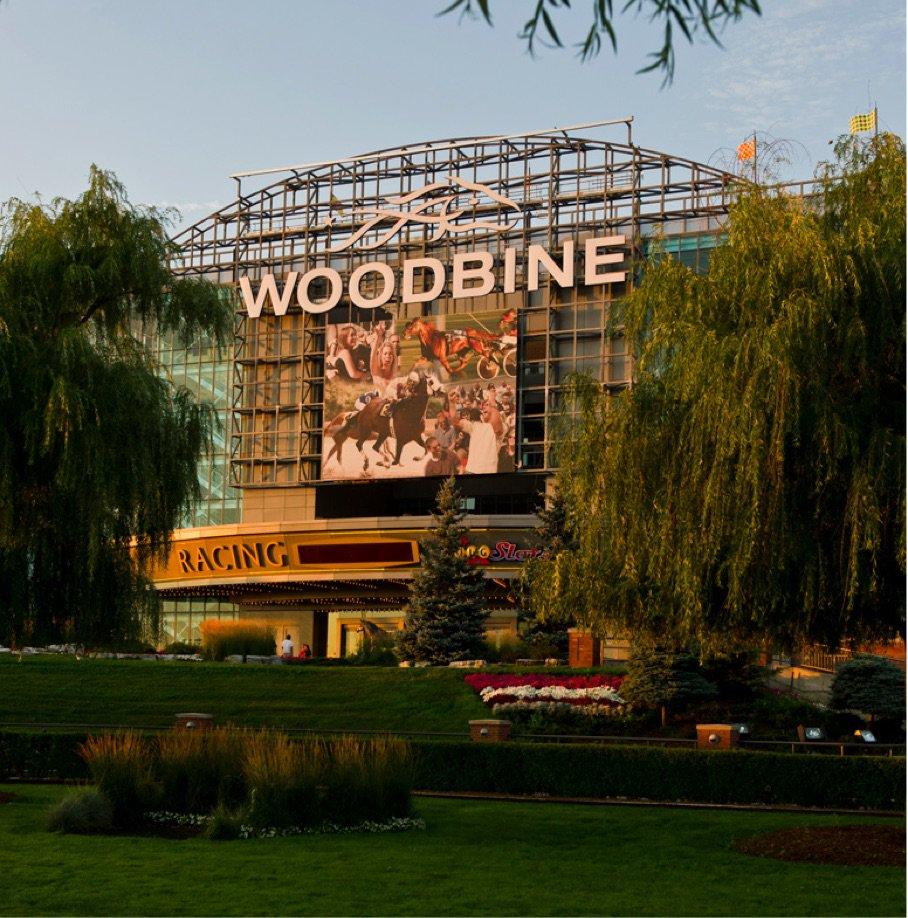 Woodbine Entrance