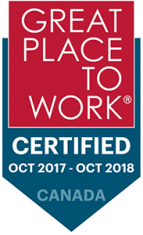 Great Place To Work: Certified Oct 2017 - Oct 2018