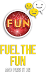 Fuel the fun and pass it on