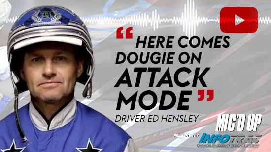 """Here comes dougie on attack mode"" by Diver Ed Hensley at Mic'd Up presented by Infotrac"