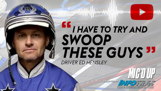 """I have to try and swoop these guys"" by Diver Ed Hensley at Mic'd Up presented by Infotrac"