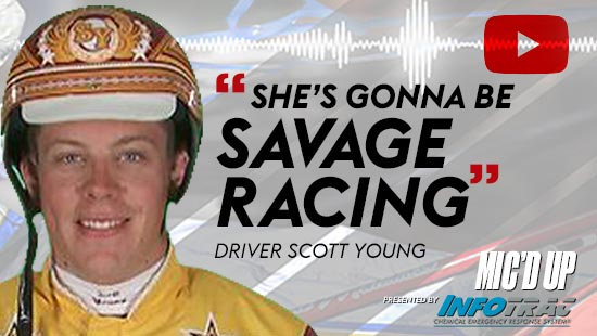 """She's gonna be savage racing"" by Diver Scott Young at Mic'd Up presented by Infotrac"