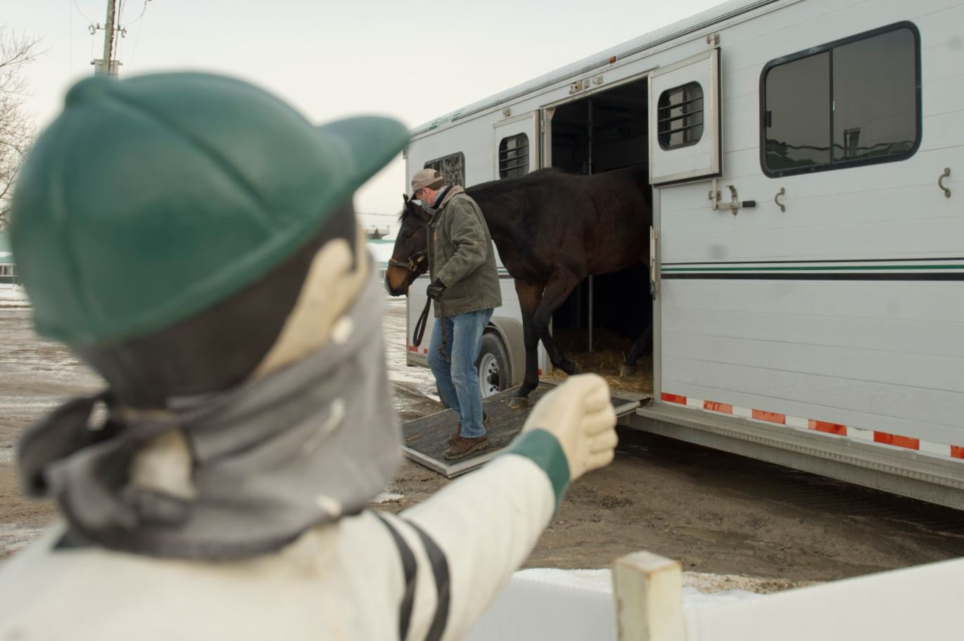 Welcome back! Lots of activity in the backstretch today as horses start shipping in - the countdown to the 2021 season starts now!
