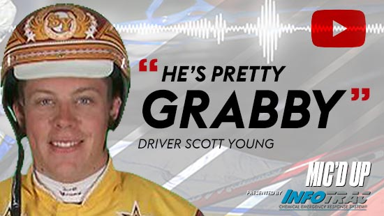 """He's pretty grabby"" by Diver Scott Young at Mic'd Up presented by Infotrac"
