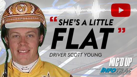"""""""She's a little flat"""" by Diver Scott Young at Mic'd Up presented by Infotrac"""