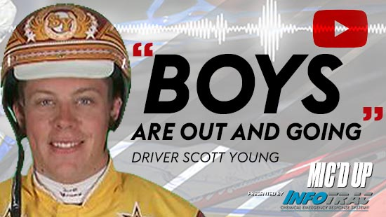 """""""Boys are out and going"""" by Diver Scott Young at Mic'd Up presented by Infotrac"""
