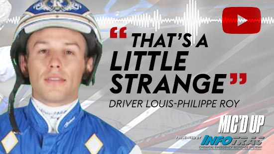 """""""That's a little strange"""" by Diver Louise-Philippe Roy at Mic'd Up presented by Infotrac"""