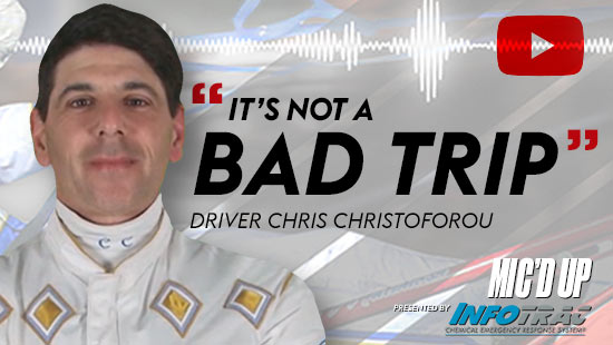 """""""It's not a bad trip"""" by Diver Chris Christoforou at Mic'd Up presented by Infotrac"""