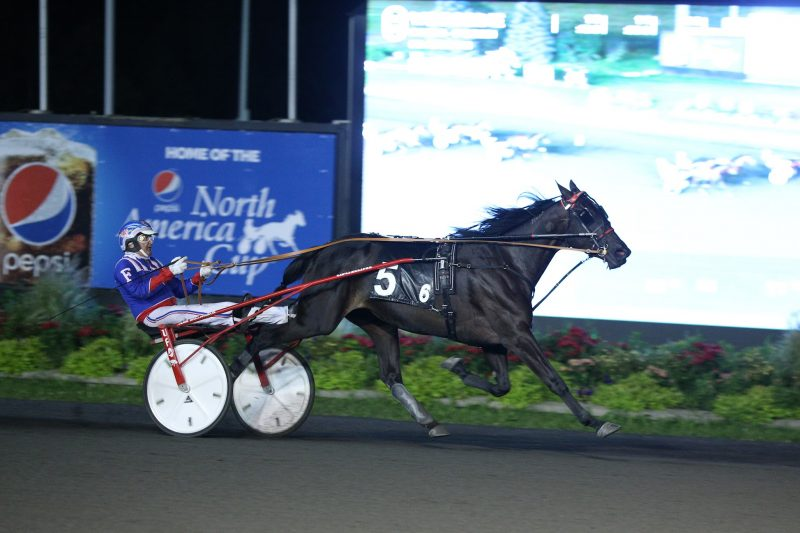 HP Mama B and Sylvain Filion winning a division of the Casual Breeze on September 3.