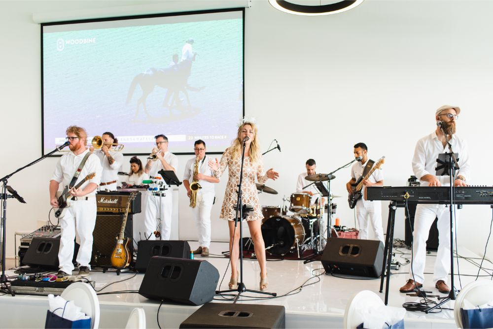 Band at White Party