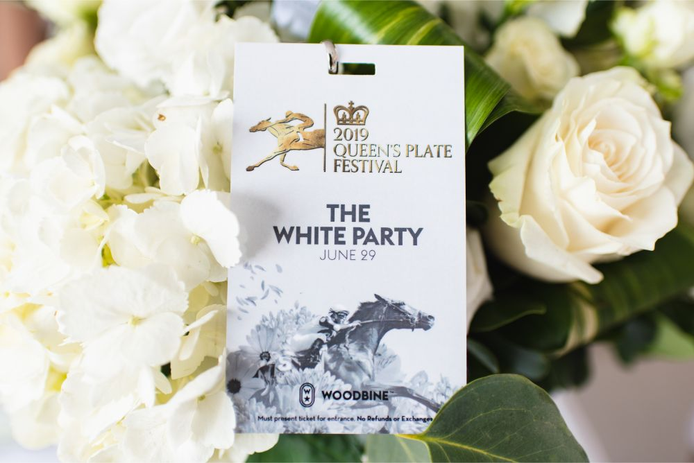 A lanyard for White Party