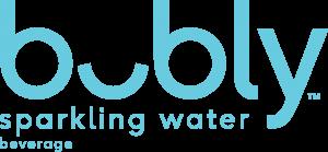Bubly sparkling water beverage logo
