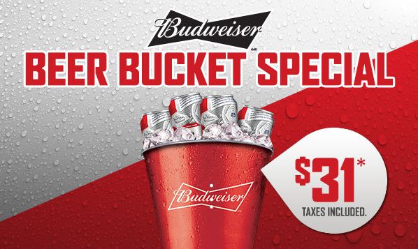 Beer Bucket Special 598x357 Email Marquee