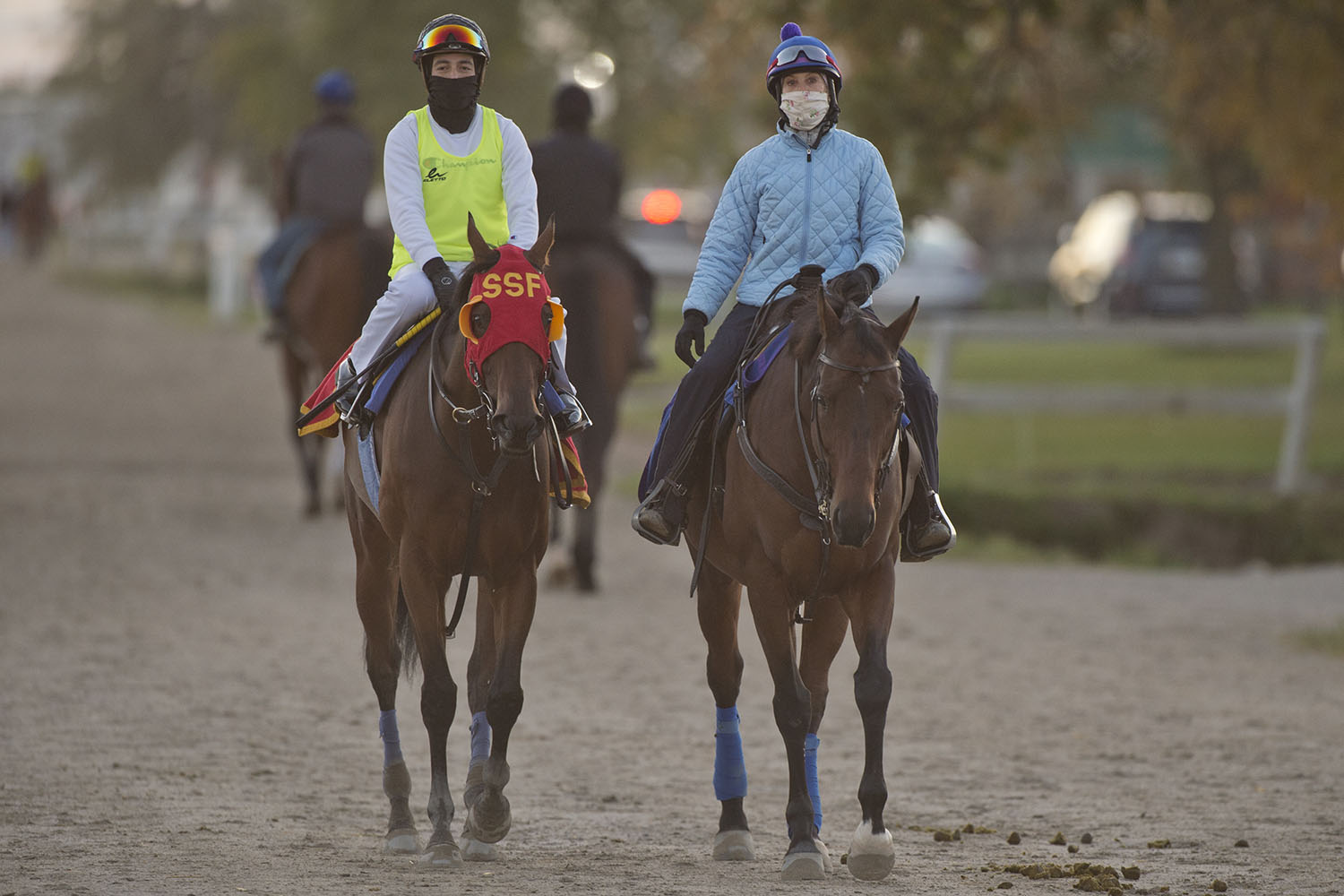 Northern Dancer Turf Stakes contender Count Again with jockey Luis Contreras. (Michael Burns Photo)