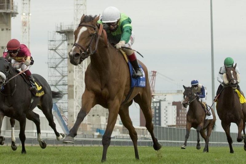 Etoile and Rafael Hernandez capture the 2020 edition of the E.P. Taylor Stakes. (Michael Burns Photo)
