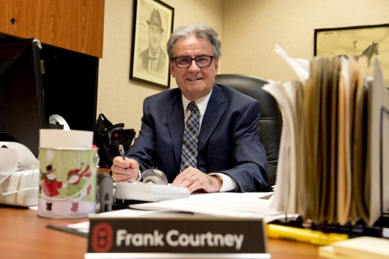 Frank Courtney.