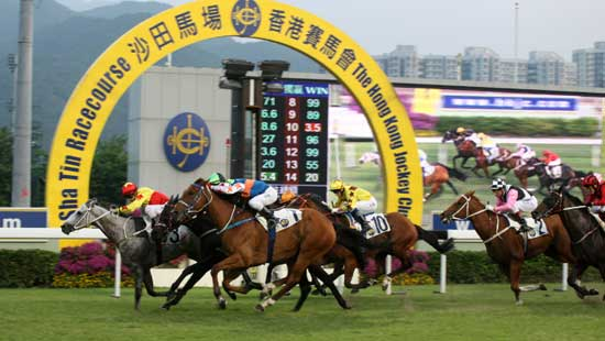 Sha Tin Racecourse opened in 1978 and is located in Sha Tin within Hong Kong's New Territories.