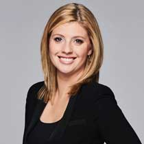 Laura Diakun, TSN SportsCentre anchor, at Woodbine Racing Night Live.
