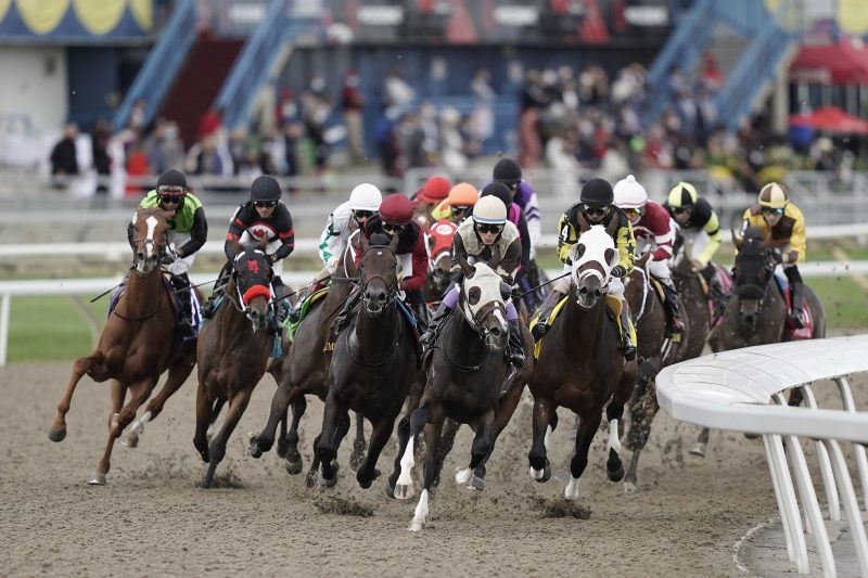 OLG Returns as the Title Partner for the 2021 Canadian Triple Crown of Thoroughbred Racing. Photo by Michael Burns.