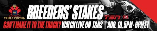 Woodbine 2018 Breeders' Stakes 598x120 TSN Email Banner