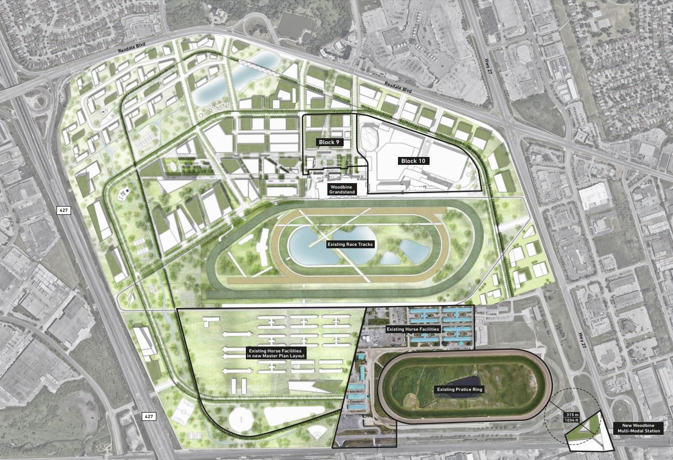 Woodbine Casino Map Woodbine Go Station Plan   Woodbine Racetrack