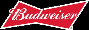 Budweiser logo, presenting Woodbine Oaks. August 1, 2021